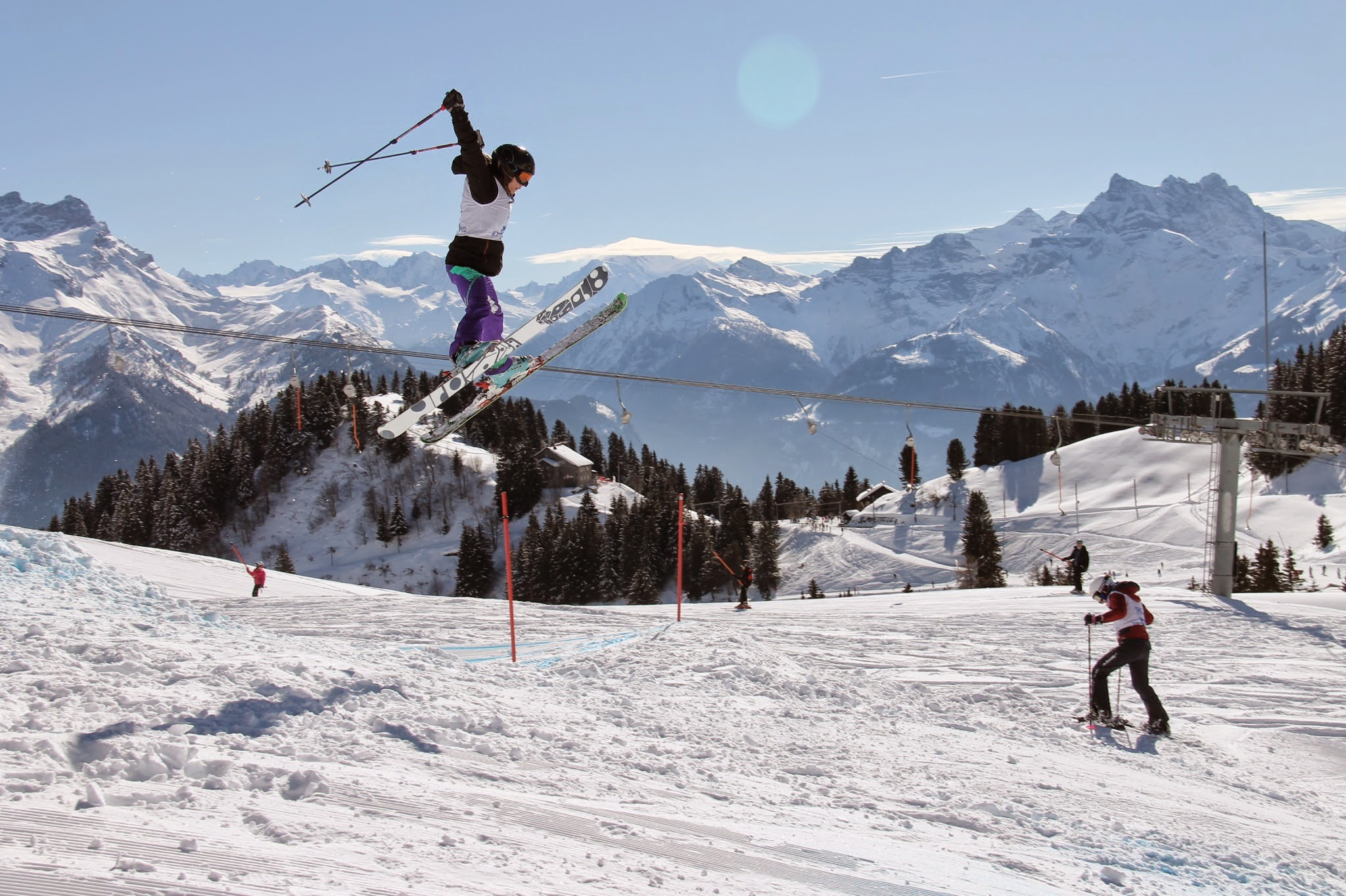 SGIS Freestyle Ski and Snowboard Champs, Villars, 2015