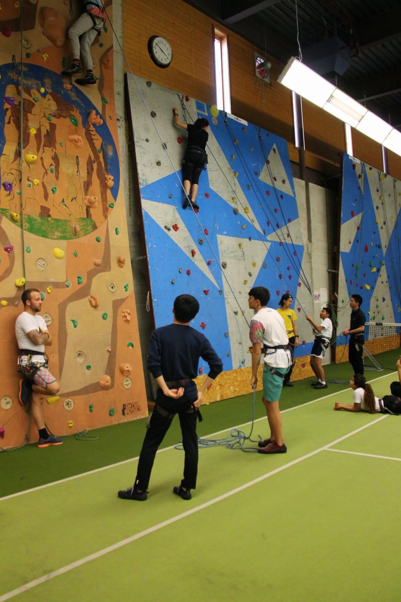 Rock Climbing & Bouldering