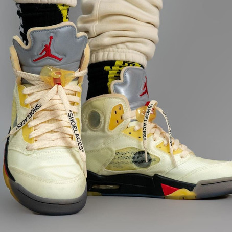 "Update - Air Jordan Off-White 5 ""Sail"""