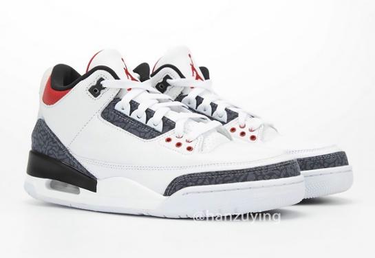 "Air Jordan 3 Retro ""Fire Red"""