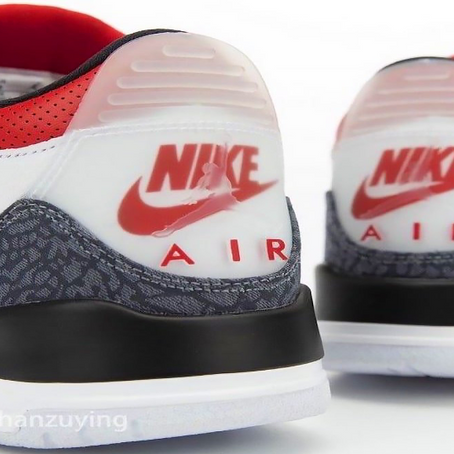 "Sneak Peek: Air Jordan 3 SE Denim ""Fire Red"""