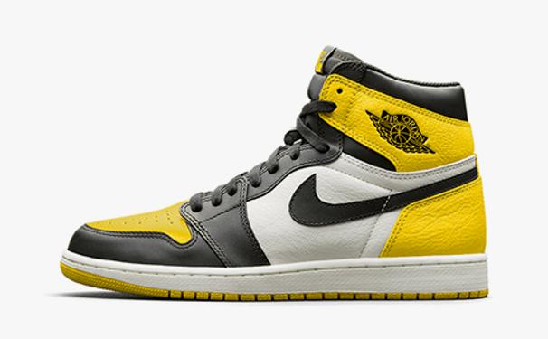 """Air Jordan 1 Retro Hi OG """"Yellow Toe"""""""