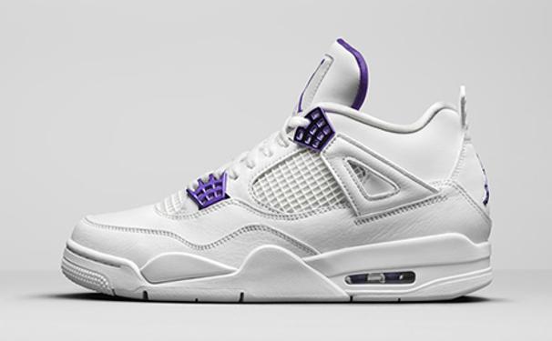 """Air Jordan 4 Retro """"Court Purple"""""""