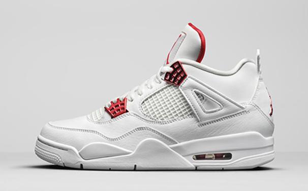 """Air Jordan 4 Retro """"Metallic Red"""""""