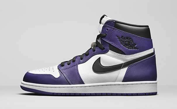 "Air Jordan 1 Retro Hi OG ""Court Purple"""