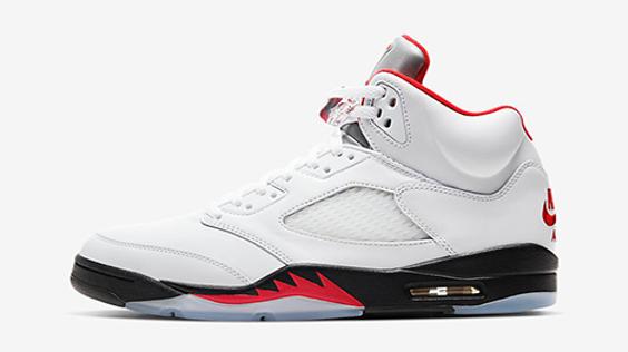 "Air Jordan 5 Retro ""Fire Red"""