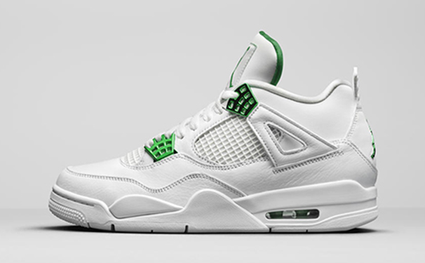 "Air Jordan 4 Retro ""Metallic Green"""