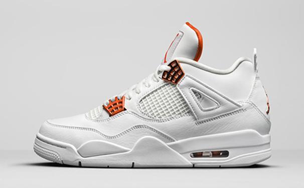 "Air Jordan 4 Retro ""Metallic Orange"""