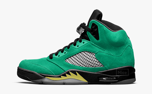 "Air Jordan 5 Retro ""Oregon Ducks"""