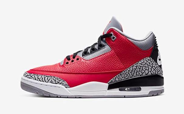 "Air Jordan 3 Retro SE ""Fire Red"""