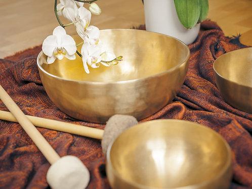 DUO / Bols tibétains +Cristal / Harmoniser, s'ancrer, guérir, et s'élever (1h30)