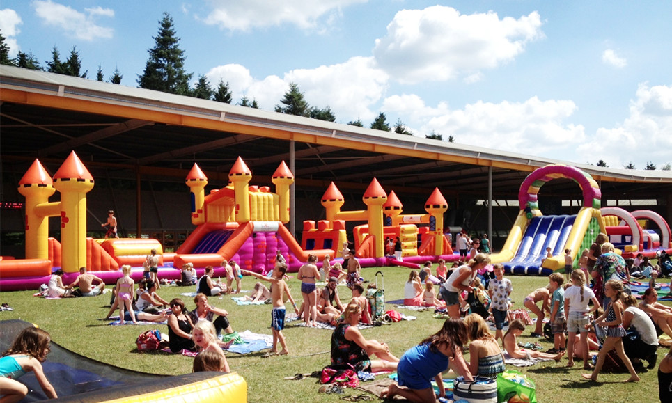 Het festivalterrein