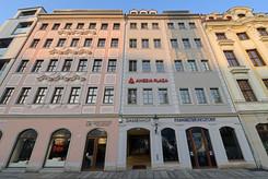 Zugang Damenhof mit AMEDIA Plaza Dresden