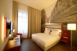 Hotelzimmer AMEDIA Plaza Dresden
