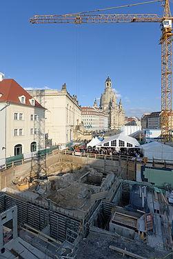 Richtfest Jüdenhof Dresden