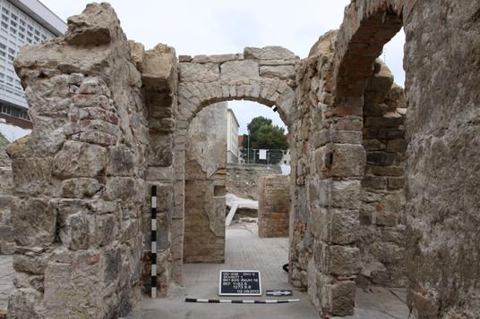 archäologische Grabungen vor dem Baubeginn