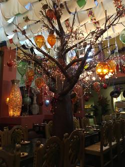 Glass Balloon Tree -- Main Dinning
