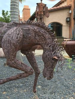 Sculpture Garden Horses