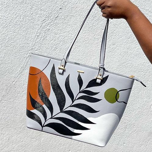 Pale Blue Bare Vibes Handbag set