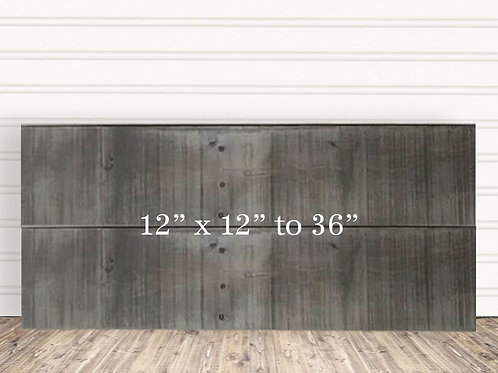 "Custom Weather Wood Sign 12"" x 12"" to 36"""