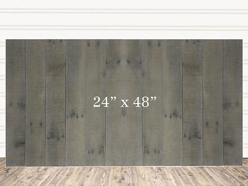 "Custom Weathered Wood Sign 24"" x 48"""