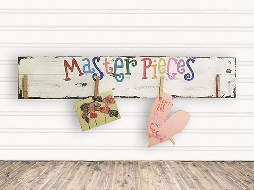 MasterPieces Wood Sign