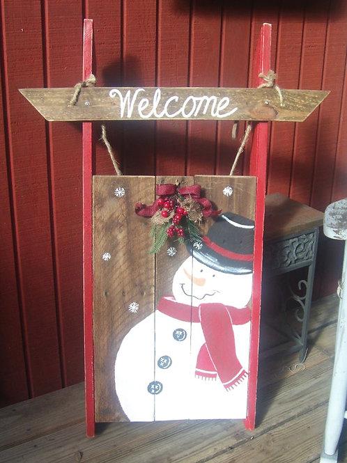 Snowman-Sleigh-Front-Door-Home-Decor