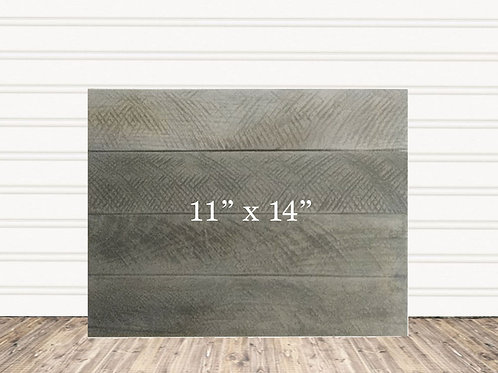 "Wedding Custom Weather Wood Sign 11"" x 14"""