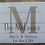 Thumbnail: Family Established Monogram White Wood Sign