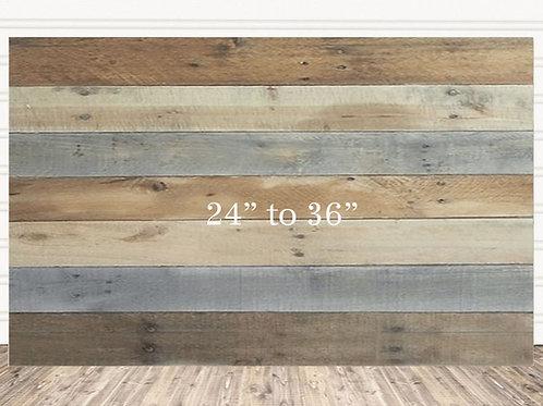"Custom Multi Color Wood Sign 24"" x 36"""