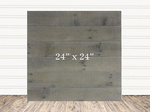 "Custom Weather Wood Sign 24"" x 24"""
