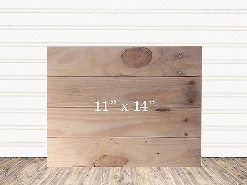 "Wedding Custom Wood Sign 11"" x 14"""