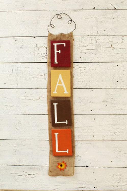 Fall Wood Sign