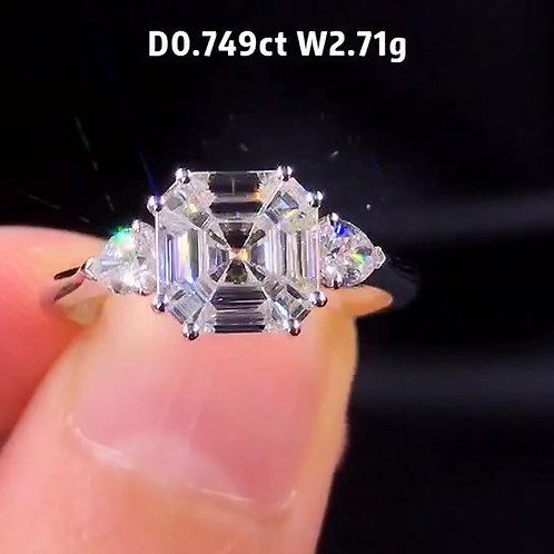 (Ask Price) Diamond Ring 0.749ct