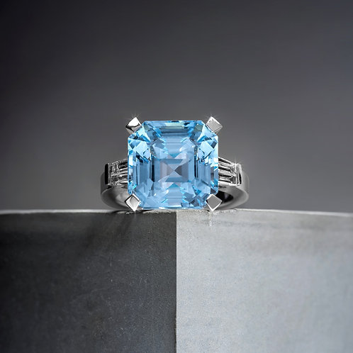 Natural Topaz Ring 13.04ct