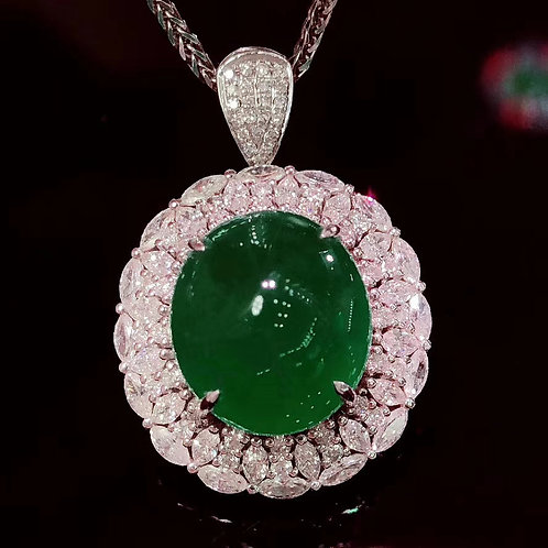 Vivid Green No Oil Emerald 8.62ct