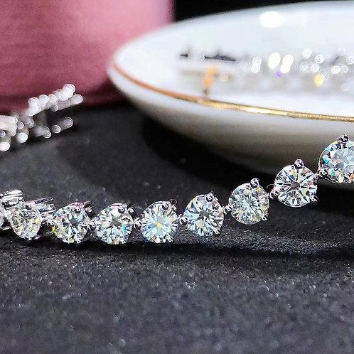 (Ask Price) Full Diamond Bracelet 8.83ct