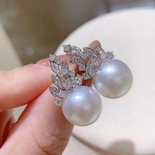 Pearl Earrings 11.2mm
