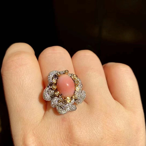 Conch Pearl Ring 4.7ct