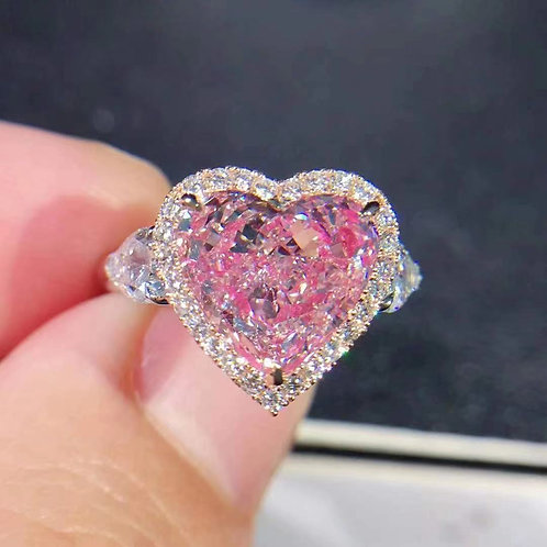 (Ask Price) Light Pink Diamond Ring 4.05ct