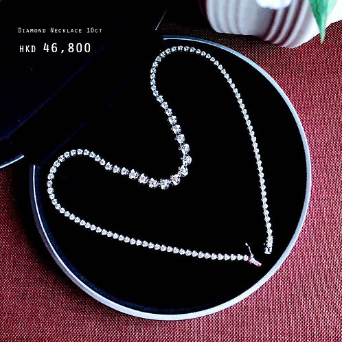 Diamond Necklace 10ct