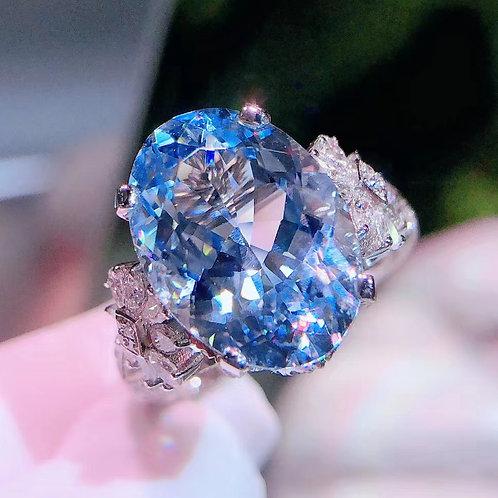 Aquamarine Ring 6ct