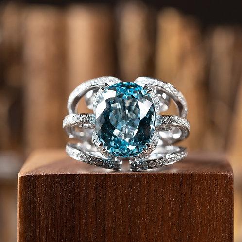 Aquamarine Ring 15.31ct
