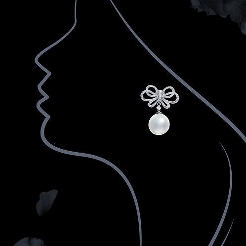South Sea Pearl Earrings 12.8mm