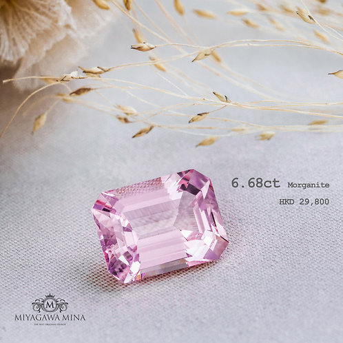 Morganite 6.68ct