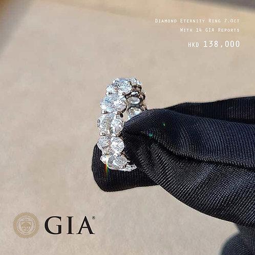 Diamond Eternity Ring 7ct