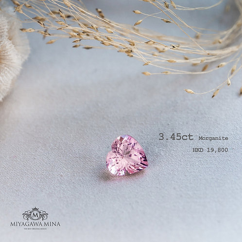 Morganite 3.45ct