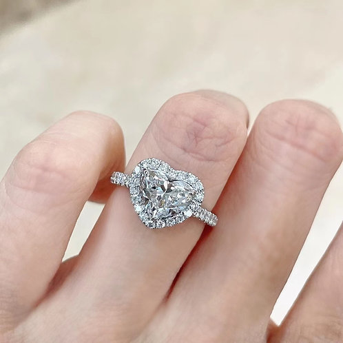 GIA Heart Cut Diamond2.0ct