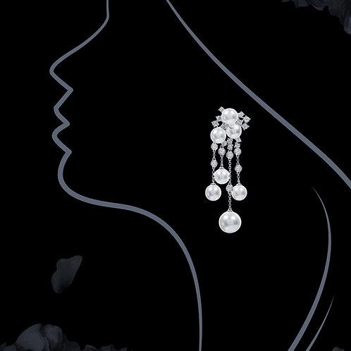 Japan Akoya Pearl Earrings