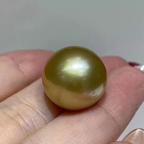 Golden South Sea Pearl 16-17mm